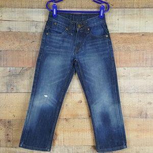 Paper Denim & Cloth Boy's Jeans Size 5 Blue Denim